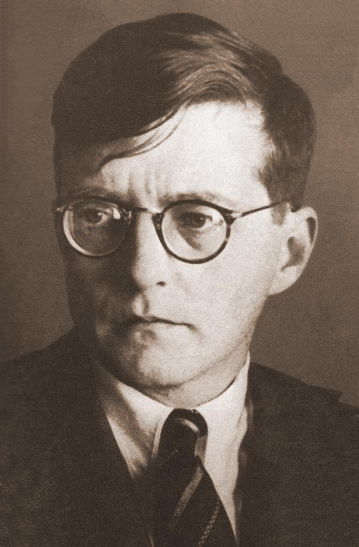 Dmitri Shostakovich in 1942.
